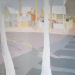 [06] ÁRBOLES BLANCOS, acrílico/lienzo, 150x150 cm