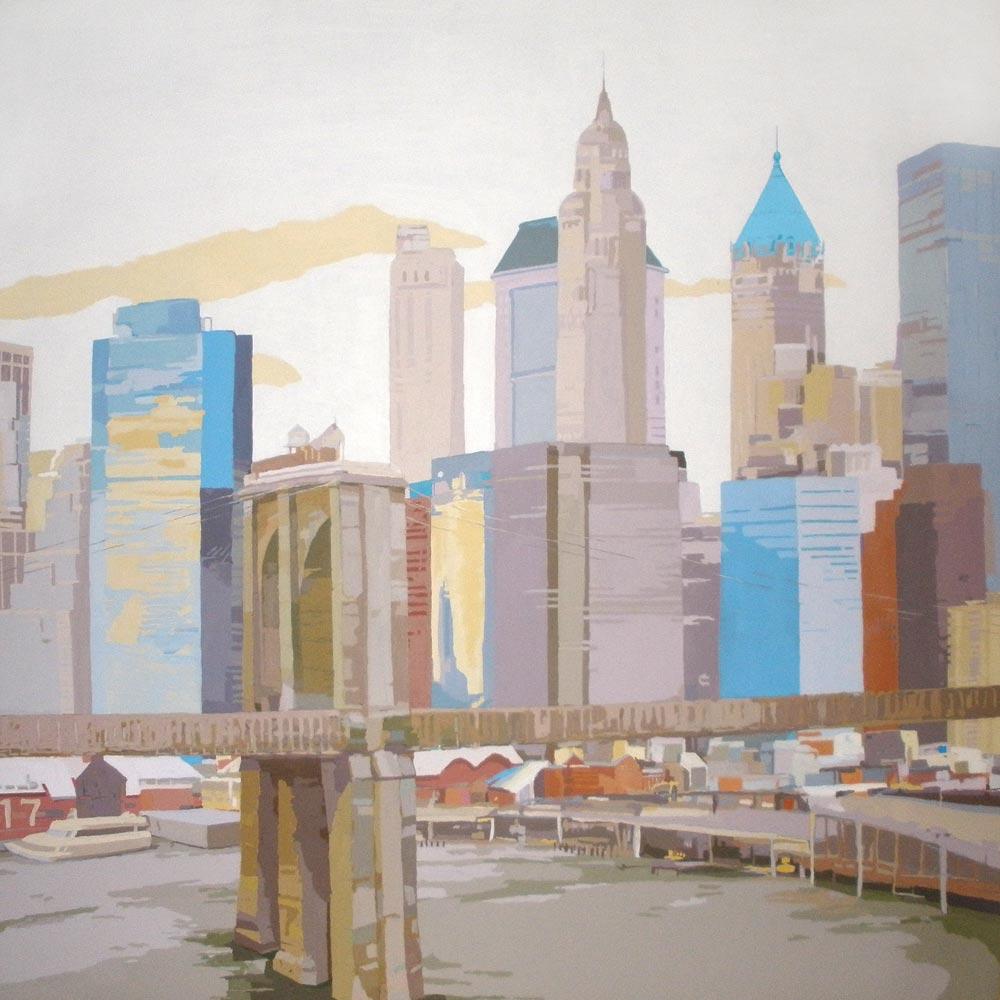 [12] PIER 17 NYC II, acrílico/lienzo, 195x195 cm