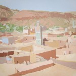 [02] MINARETES (valle del Ziz), acrílico/lienzo, 114x146 cm