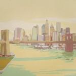 [02] NEW YORK NEW YORK I, acrílico/lienzo, 81x100 cm