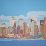 [04] NEW YORK SKYLINE I, acrílico/lienzo, 73x116 cm