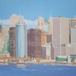 [05] NEW YORK SKYLINE II, acrílico/lienzo, 73x116 cm