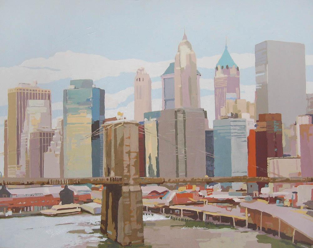 [06] NEW YORK NEW YORK II, acrílico/lienzo, 73x92 cm