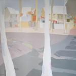 [09] ÁRBOLES BLANCOS, acrílico/lienzo, 150x150 cm