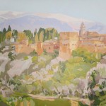 ALHAMBRA, acrílico/lienzo, 114x146 cm, 2011