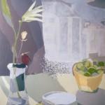 BODEGÓN DE LOS KIWIS, acrílico, lienzo, 100x81 cm, 2003