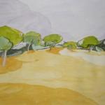 DEHESA (Madrid), acuarela/papel, 20x29 cm, 2007