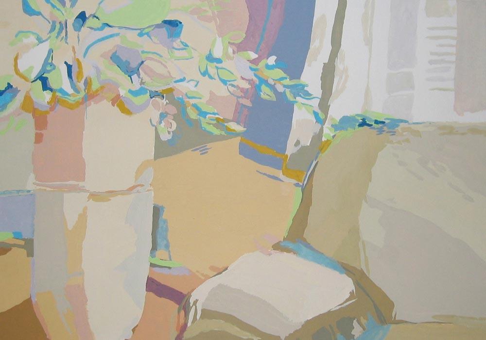 EL RINCÓN, gouache/papel, 20x29 cm, 2007
