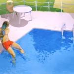 EL SOCORRISTA, acrílico/lienzo, 81x100 cm, 2003