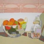 FRUTAS, gouache/papel, 20x29 cm, 2007