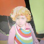 LEIRE POP TRAIT, acrílico/lienzo, 100x81 cm, 2004