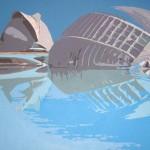 L'HEMISFÈRIC II, acrílico/lienzo, 81x100 cm, 2005