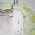 LA ERMITA, Acuarela/papel, 30x40 cm, 2007