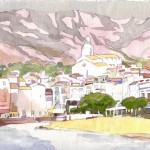 MÁGICA LUZ, acuarela/papel, 20x29 cm, 2010