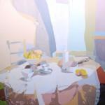 MATINAL, acrílico/lienzo, 195x195 cm, 2004
