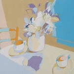 MERIENDA, gouache/papel, 20x29 cm, 2007