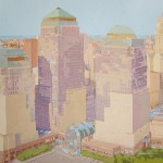 WORLD TRADE CENTER, acrílico/lienzo, 81x100 cm, 2010