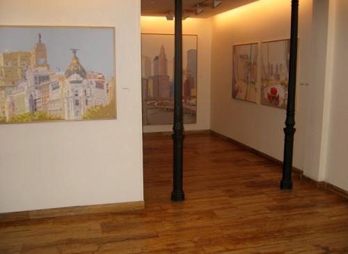 """""""De Madrid a Nueva York"""" - Galería Ángeles Penche, sala 1"""