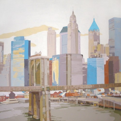 PIER 17 NYC II, acrílico/lienzo, 195x195 cm