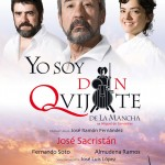 "Cartel blanco para ""Yo soy Don Quijote..."""