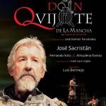 """Cartel para """"Yo soy Don Quijote de La Mancha"""", Madrid"""