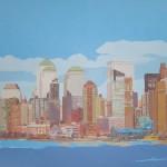 [12] NEW YORK SKYLINE I, acrílico/lienzo, 73x116 cm