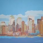 [09] NEW YORK SKYLINE I, acrílico/lienzo, 73x116 cm