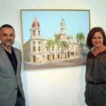 Javier Aoiz Orduna con Patricia Puchol