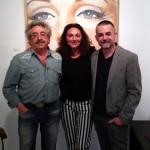 Ribes Coll y Concha Martínez con Javier Aoiz Orduna