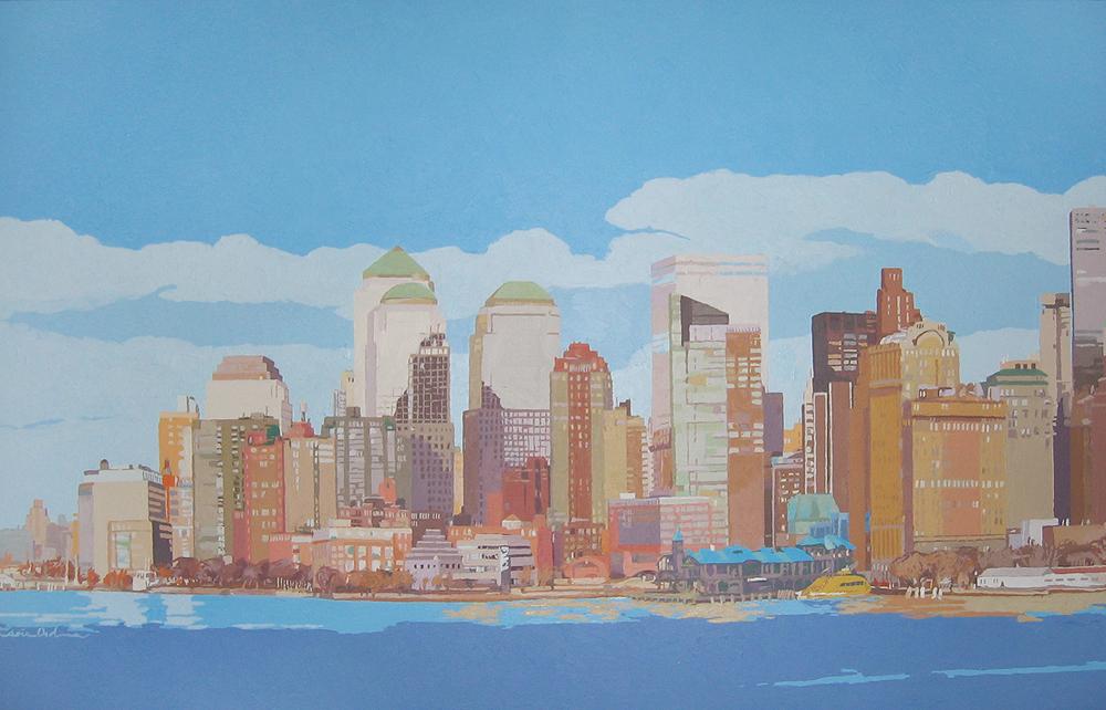 [07] NEW YORK SKYLINE I, acrílico/lienzo, 73x116 cm