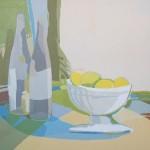 [26] Bodegón con limones, acrílico/lienzo, 46x55 cm