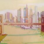 NEW YORK NEW YORK III, acrílico/lienzo, 38x46 cm