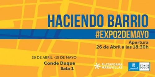 Invitación HACIENDO BARRIO