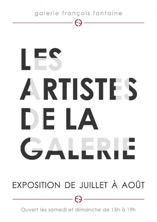 LES ARTISTES DE LA GALERIE - Galerie François Fontaine