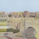 [04] MADRID PUERTA DE TOLEDO, acrílico/lienzo, 81X100 cm, 2016