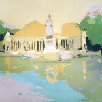 [17] MADRID RETIRO, acrílico/lienzo, 89X116 cm, 2003