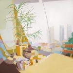 [21] TARROS Y TORRES, acrílico/lienzo, 195x195 cm, 2009