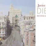 Tarjetón exposición Javier AOIZ ORDUNA / DIECISéIS - Galería Ángeles Penche