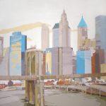 [02] Pier 17 NYC II, acrílico/lienzo, 195x195 cm