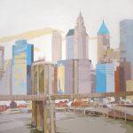[05] Pier 17 NYC II, acrílico/lienzo, 195x195 cm
