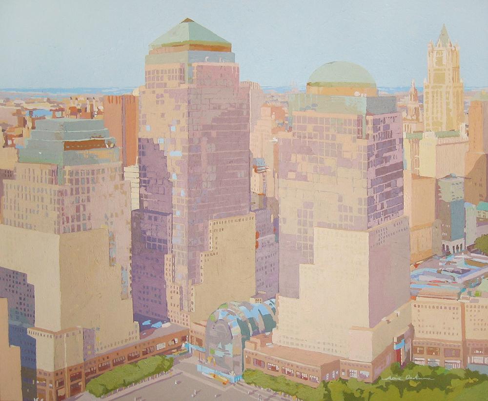 [06] World Trade Center, acrílico/lienzo, 81x100 cm