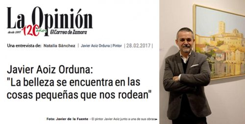 La Opinión de Zamora - portada entrevista ok