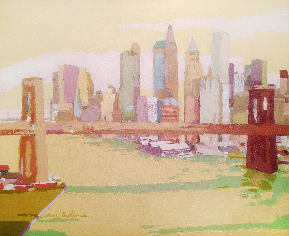[02] NEW YORK NEW YORK III, acrílico/lienzo, 38x46 cm
