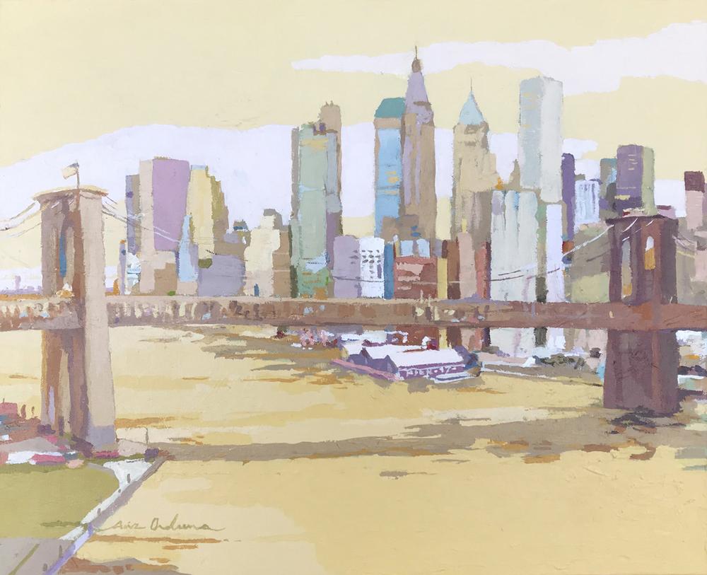 [05] NEW YORK NEW YORK IV, acrílico/lienzo, 38x46 cm