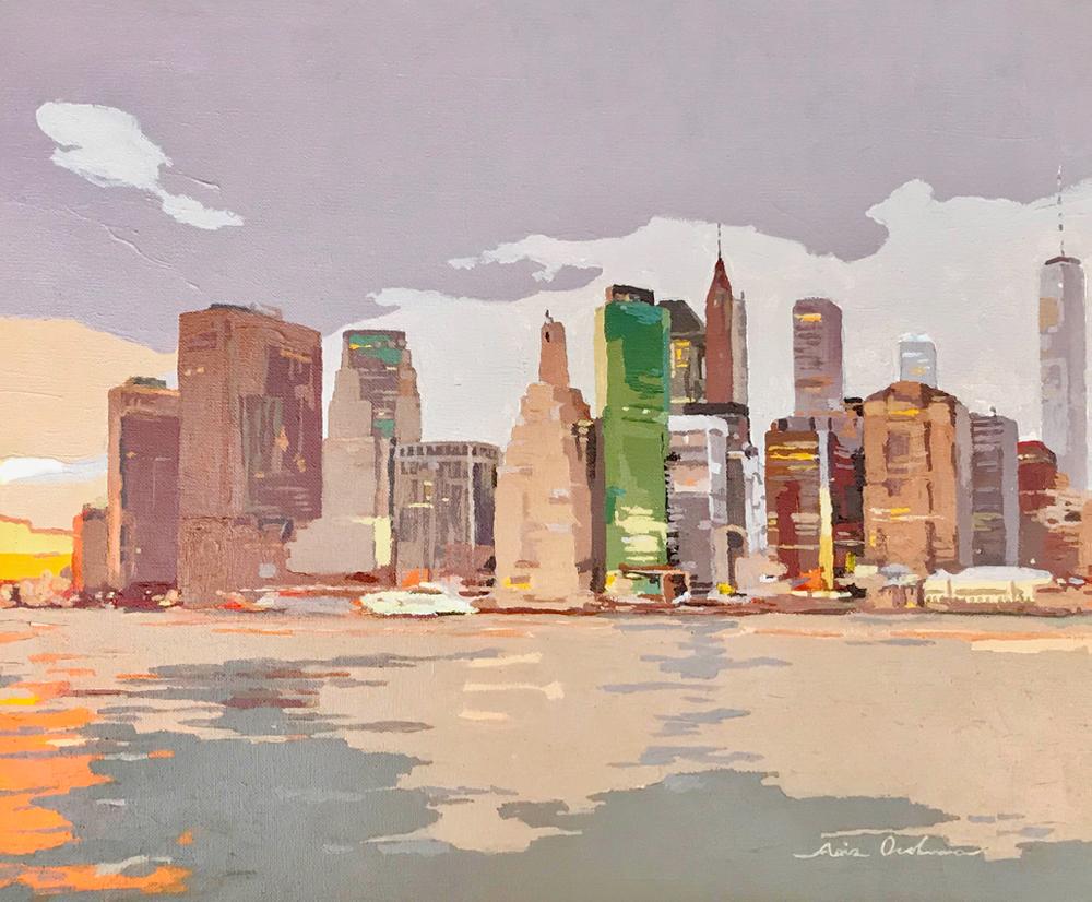 [06] NEW YORK NEW YORK V, acrílico/lienzo, 38x46 cm