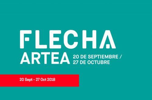 Cartel FLECHA ARTEA 2018