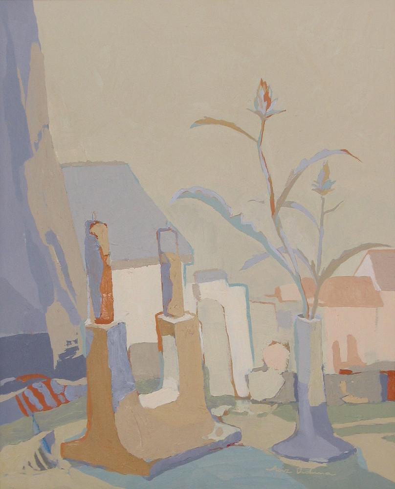 PAREJAS, óleo/lienzo, 61x50 cm